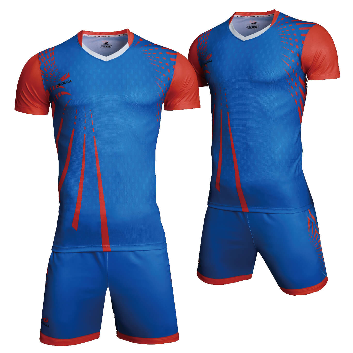 男式运动服男式统一排球球衣免费自定义名称号码排球套装