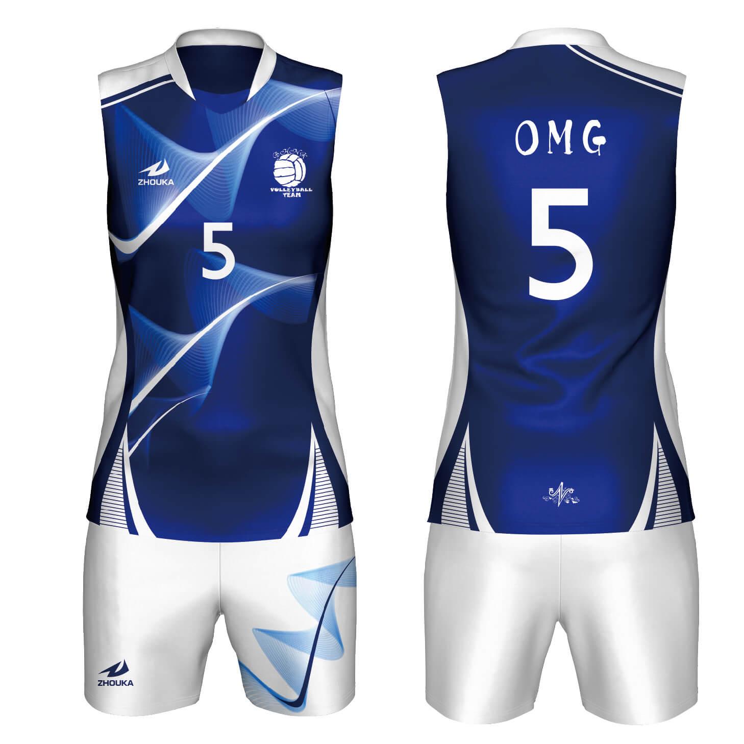 男士无袖排球运动服新款热升华球服排球服