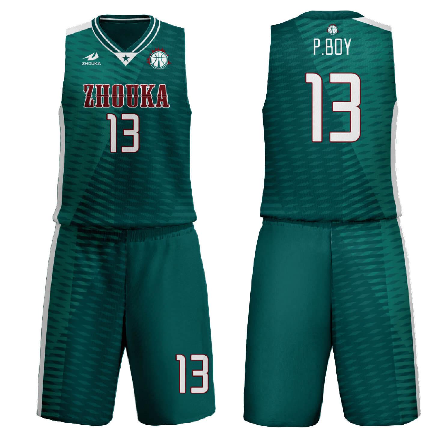 定制团队设计运动服篮球服球衣篮球衫