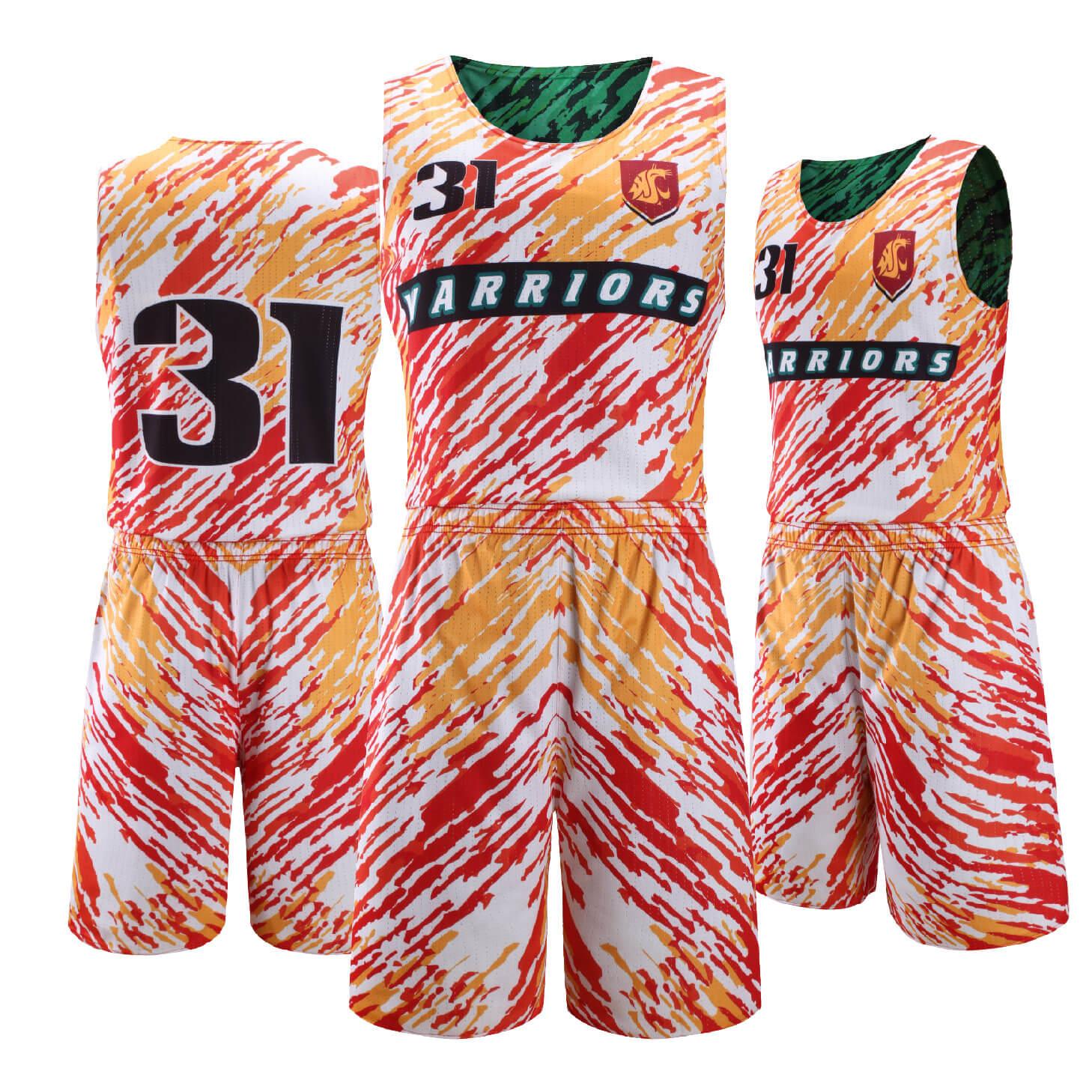 正反两面穿篮球服