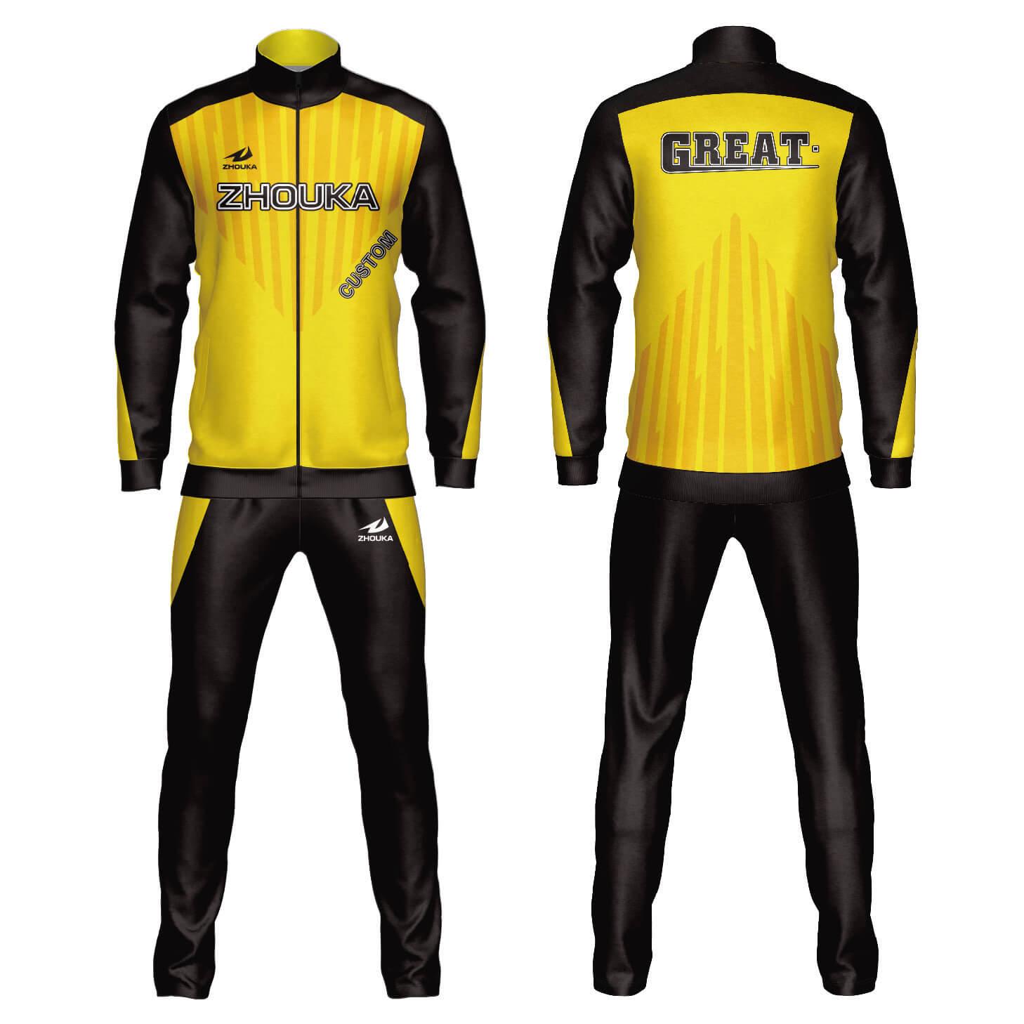 定制设计批发篮球足球运动服