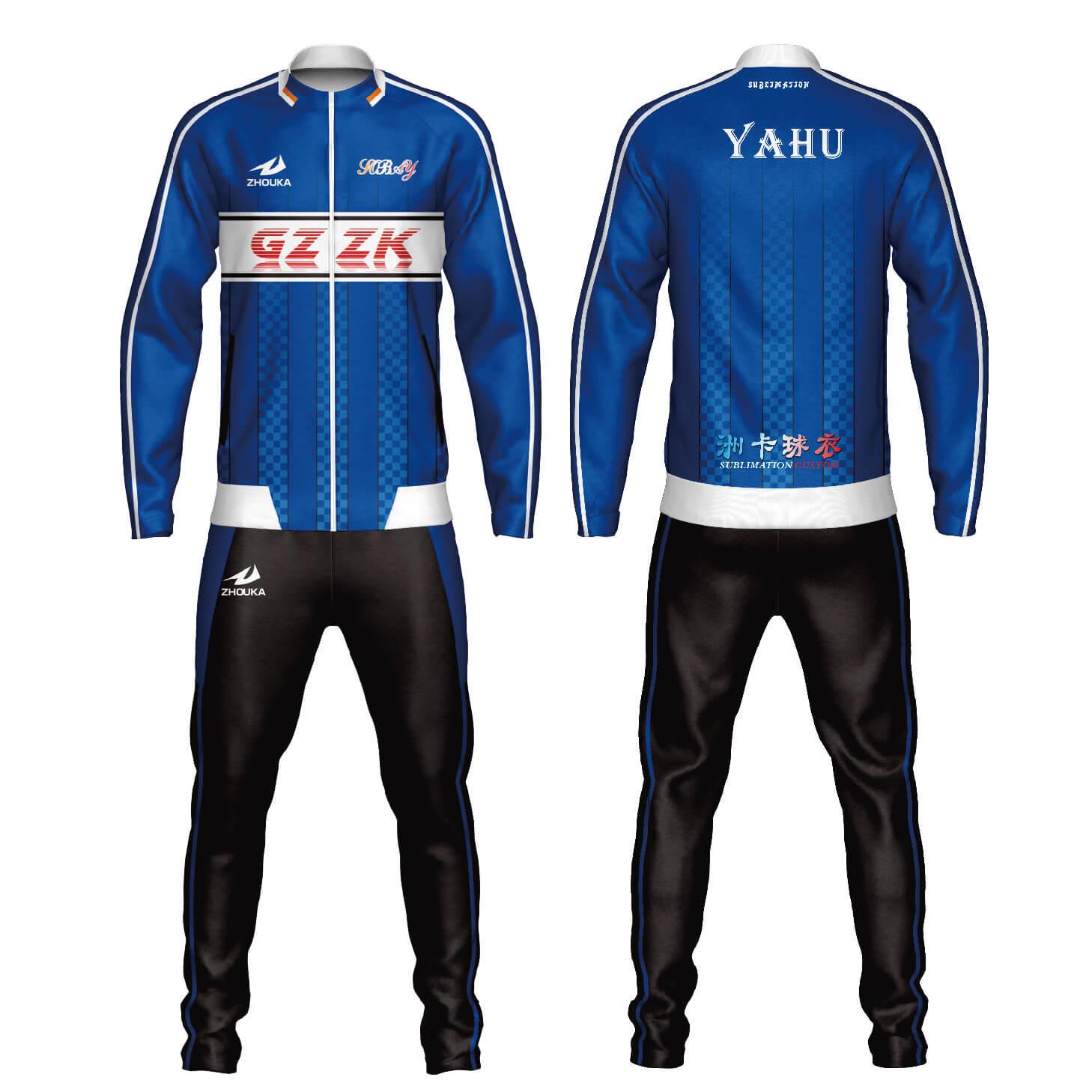 定制运动服配套足球服运动服