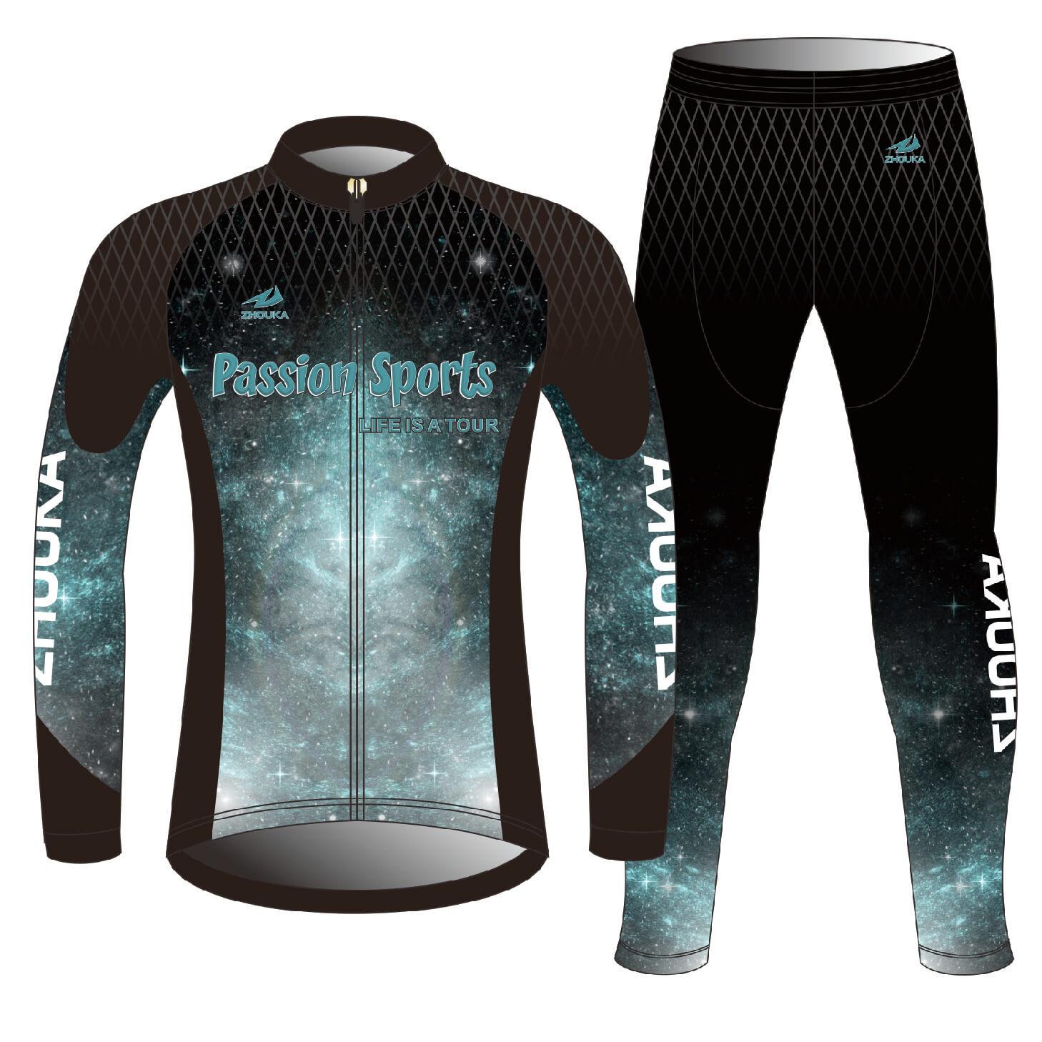 冬季团队极限运动定制骑行运动服